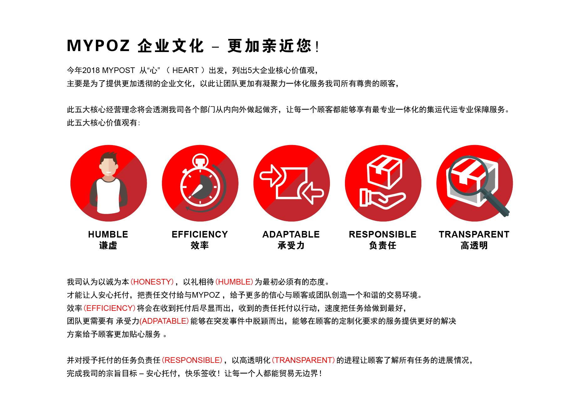 MYPOZ企业文化