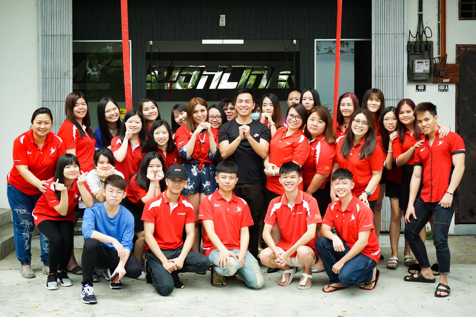 MYPOZ 马来西亚团队 收工拜年